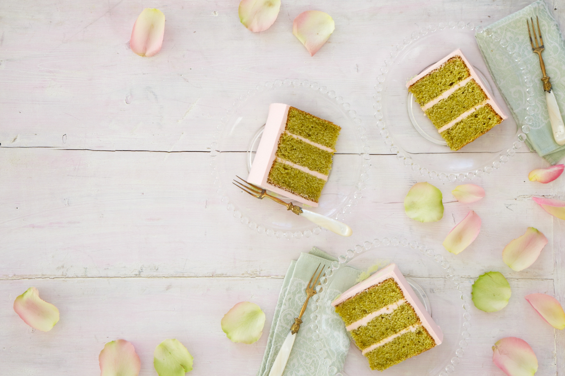 Layer Cakes_Pistachio Rose 24412